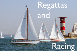 Experience the thrill of being part of a classic regatta