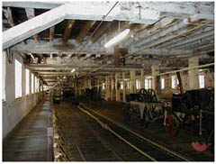 The Ropewalk at Chatham Royal Dockyard